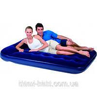 Двуспальный надувной матрас Bestway 67226 (203х152x22 см) со встроенным насосом