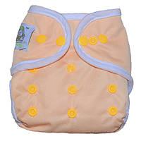Многоразовый подгузник CoolaBaby Эрго наносеребро для новорожденных до 6-8 месяцев от ( 2-х до 10 кг)