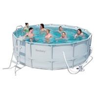 Каркасный круглый бассейн, размер 427х122см
