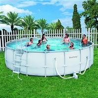 Каркасный круглый бассейн, размер 549х132см