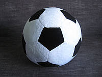 Мягкая игрушка-подушка мяч ручная работа
