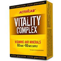 ACTIVLAB Vitality Complex 60 таб. 13 витаминов, 10 минералов + женьшень