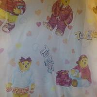 """Тюль детская печать """"Мишка Тедди """""""