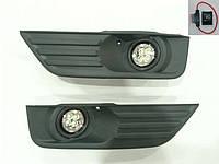 Штатные противотуманки на диодах Ford Focus II 2005-2008 г.в.