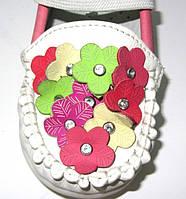 Розовые туфельки для девочки