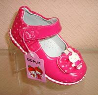 Детские лаковые туфли для девочки