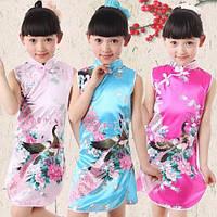 Платье в китайском стиле (ципао)