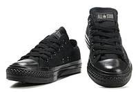 Кеды женские Converse All Star низкие черные