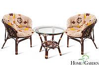 Комплект балконних меблів. Столик + 2 крісла