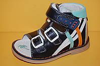 Детские кожаные сандалии ТМ Том.М код 4728 размеры 21-26