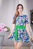 Яркое платье мини р.44-46 Yam167_3