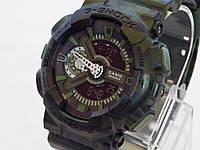 Спортивные камуфляжные часы Сasio G-Shock GA-110 Camo