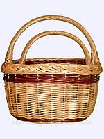 Набор плетеных корзин для грибов,овощей,фруктов,ягод