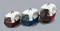 Переноска  для животных Foshan PAW 10 (металлическая дверь с ковриком)  (51*34*30см)