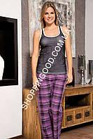 Женская пижама Shirly 4824, костюм домашний с брюками
