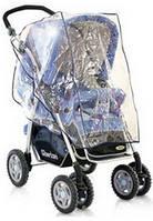 Дождевик для коляски силиконовый универсальный
