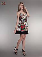 Женский летний сарафан красный, фото 1