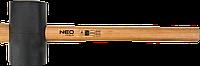 Киянка резиновая 90 мм/1200 г, рукоятка из гикори 25-054 Neo