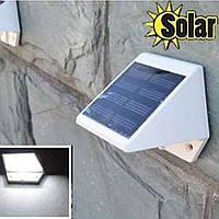 Светодиодный светильник, фонарь, бра на солнечной батареи 6  LED, фото 1