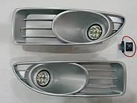 Штатные противотуманки на диодах Fiat Linea 2006-2012 г.в.