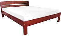 Кровать двуспальная Октавия из бука