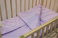 Постельное белье для новорожденных с простыней на резинке