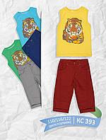 Стильный летний костюм для мальчика