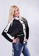 """Курточка женская """"летучая мышь"""" черная, фото 1"""