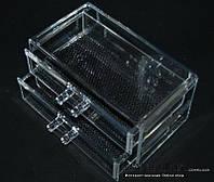 Двухярусный контейнер для косметики и бижутери, SF-1005-3