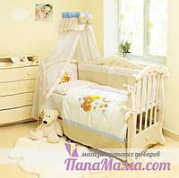 Детское постельное белье в кроватку Twins Evolution Мишки на луне