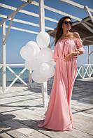Очень красивое и нежное платье в пол шифон