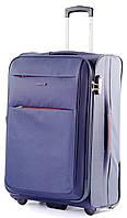Прочный удобный тканевый чемодан на 2-х колесах 46 л. Puccini Camerino 5702/4 синий