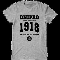 Футболка с печатью принта FC DNIPRO