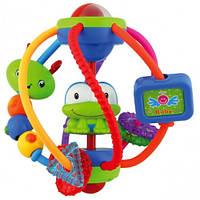 Развивающая игрушка погремушка пластиковая Загадочный шар  Baby Mix