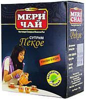 Чай черный индийский MeriChai PEKOE100г. (Ложка в подарок)