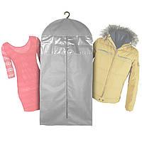 Чехол для одежды 60х115см, серый