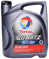 Масло моторное Total Quartz Ineo ECS 5W30  5лит. (банка)