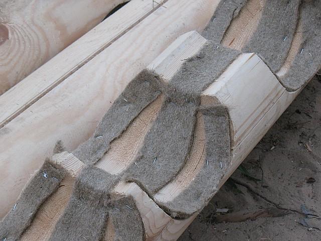 Утеплители для деревянного дома, сруба, бани, сауны