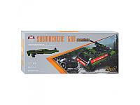Детский конструктор 81063  2 в 1 (танк, оружие)