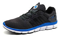 Кроссовки мужские летние Adidas Climachill, текстильные, темно-серые, фото 1