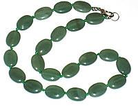 Колье ожерелье нефрит