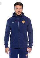 Мужской спортивный костюм FC Barcelona Nike синий