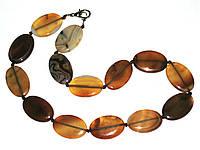 Ожерелье бижутерия из сердолика