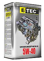 Масло E-TEC EVO-D 5w40 4л