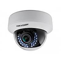 Купольная Turbo HD камера Hikvision DS-2CE56D1T-VFIR, 2 Мп варифокальная