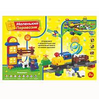 Конструктор для малышей  M 0439 U/R  Веселый паровозик