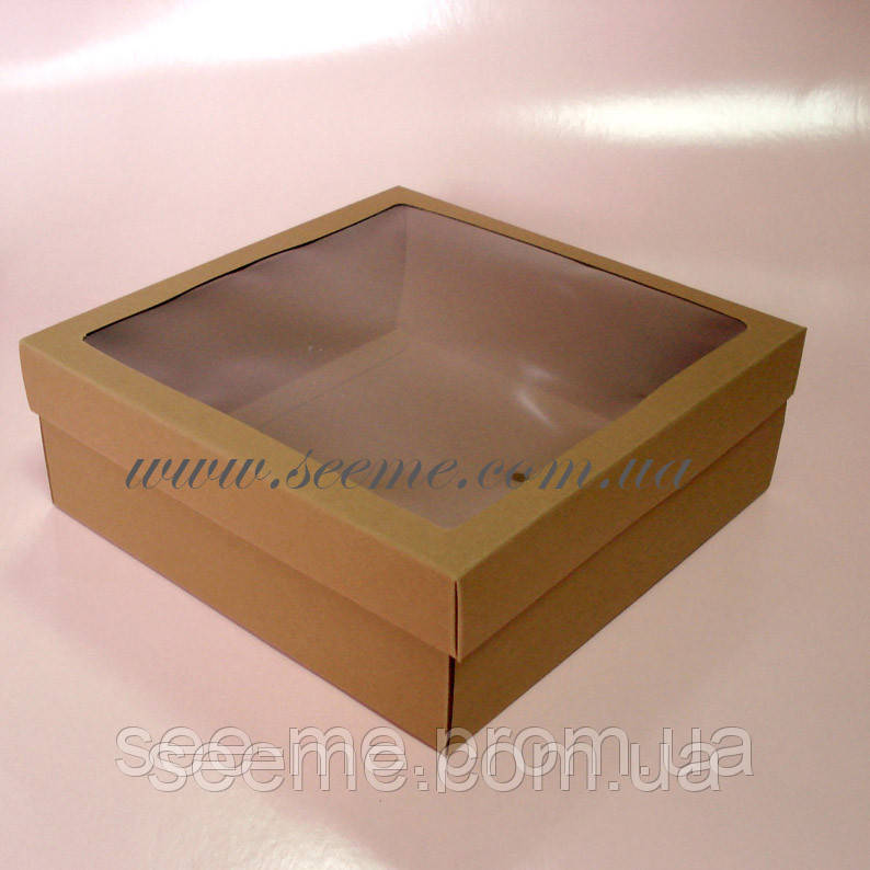 Коробочка с прозрачной крышкой своими руками