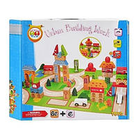 Деревянная игрушка Городок Wood Toys MD 0679