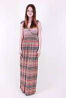 Модный сарафан женский на лето с красивым узором