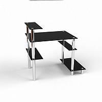 Стеклянный компьютерный стол  магазине